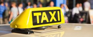 Particuliere taxi